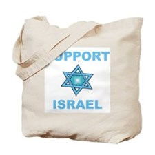 Support Israel Star of David Tote Bag