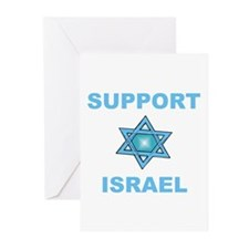 Support Israel Star of David Greeting Cards (Packa