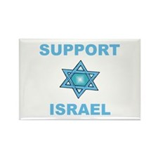 Support Israel Star of David Rectangle Magnet