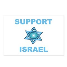 Support Israel Star of David Postcards (Package of
