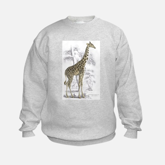 Giraffe (Front) Sweatshirt