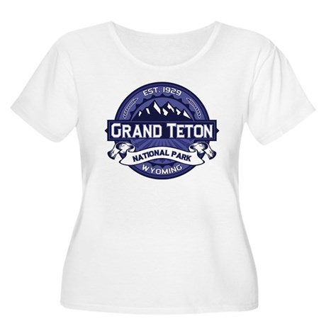Grand Teton Midnight Women's Plus Size Scoop Neck