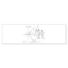 Pioneer Plaque Sticker (Bumper 50 pk)