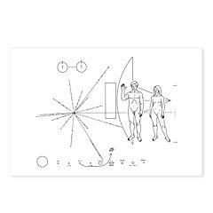 Pioneer Plaque Postcards (Package of 8)