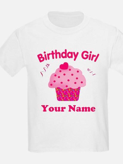 Birthday Girl Cupcake T-Shirt