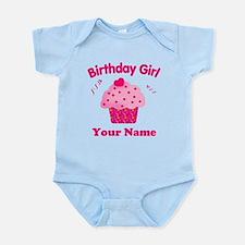 Birthday Girl Cupcake Infant Bodysuit