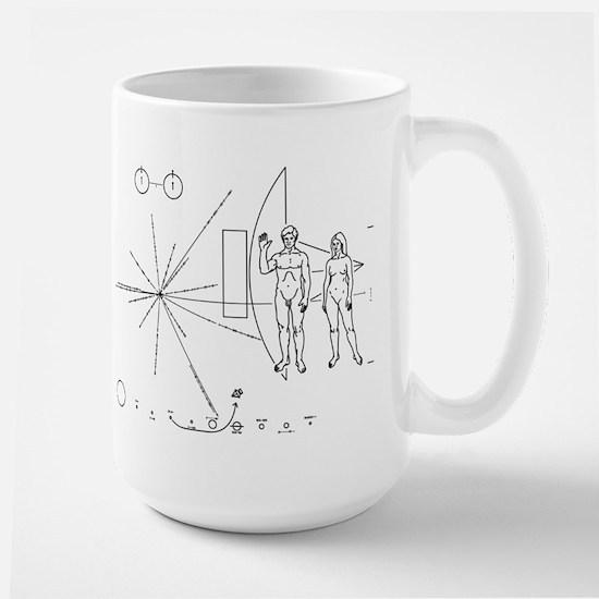 Pioneer Plaque Large Mug