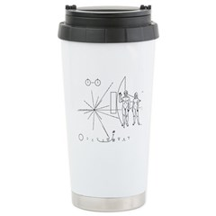 Pioneer Plaque Travel Mug