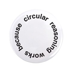 "Circular Reasoning 3.5"" Button"