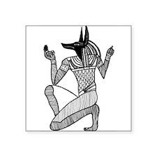 Anubis - Eqyptian Diety Rectangle Sticker