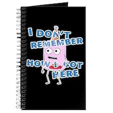 I Don't Remember Journal