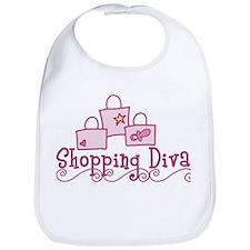 Shopping Diva Bib