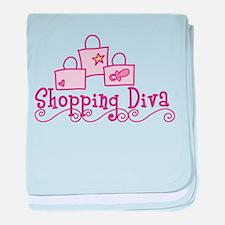 Shopping Diva baby blanket