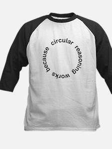 Circular Reasoning Kids Baseball Jersey