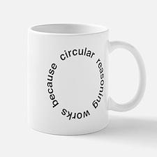 Circular Reasoning Mug