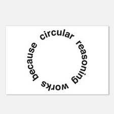 Circular Reasoning Postcards (Package of 8)
