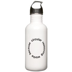 Circular Reasoning Water Bottle