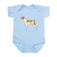 Orange Brittany Infant Bodysuit