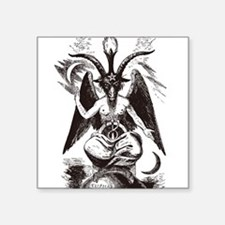 Sabbat Goat Rectangle Sticker