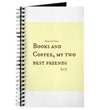 Books and Coffee BFF Journal