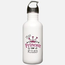 This Princess Rules Sports Water Bottle