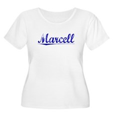 Marcell, Blue, Aged T-Shirt