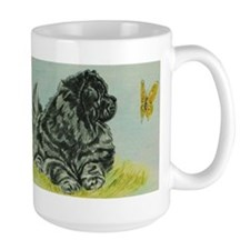Chow Chow Dog with Butterfly Mug