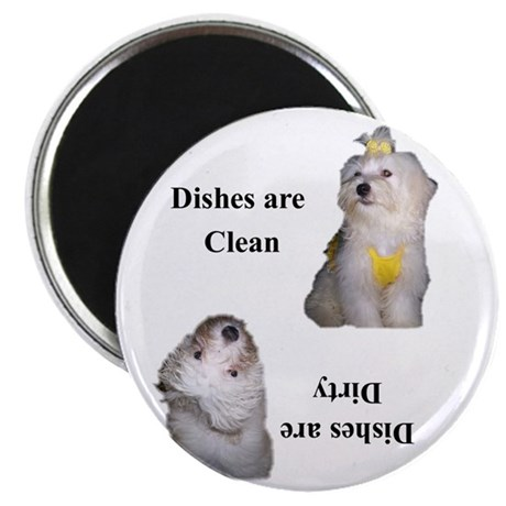 Dishes are clean Angel Magnet