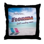 Florida - Throw Pillow