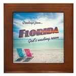 Florida - Framed Tile