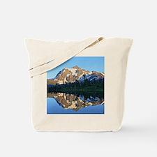 Mt Shuksan over Picture Lake Tote Bag