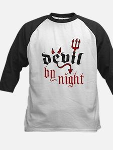 Devil By Night Kids Baseball Jersey