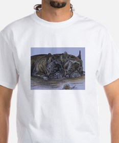 French Bulldogs with Snail Shirt