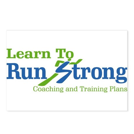 Learn To Run Strong Postcards (Package of 8)