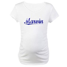 Marvin, Blue, Aged Shirt