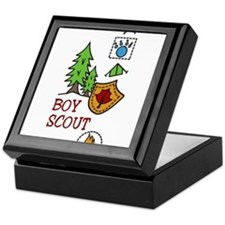 Boy Scout Keepsake Box