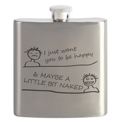 I just want be happy Flask