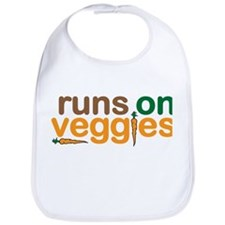 Runs on Veggies Bib