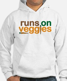 Runs on Veggies Jumper Hoody