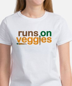 Runs on Veggies Women's T-Shirt