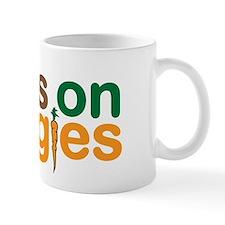 Runs on Veggies Small Mug