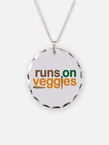 Runs on Veggies Necklace
