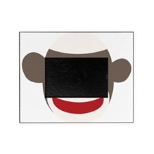 Sock Monkey Face Picture Frame