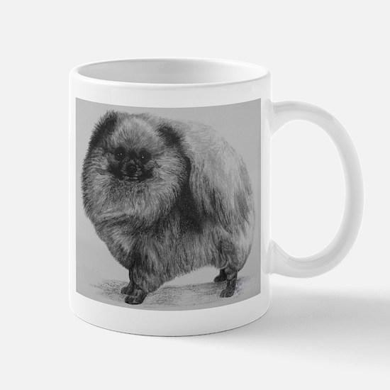 Pomeranian Dog - Black Mug