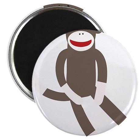 """Sock Monkey 2.25"""" Magnet (100 pack)"""