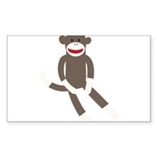 Sock Monkey Decal