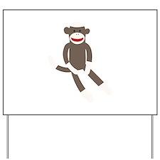 Sock Monkey Yard Sign