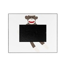Sock Monkey Picture Frame