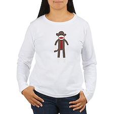 Red Tie Sock Monkey T-Shirt