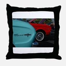 Color Run Throw Pillow
